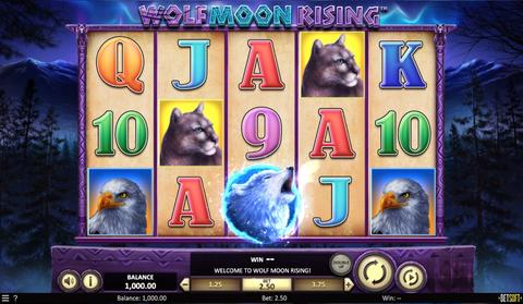 Online Casino «Wolf Moon Rising Slot»