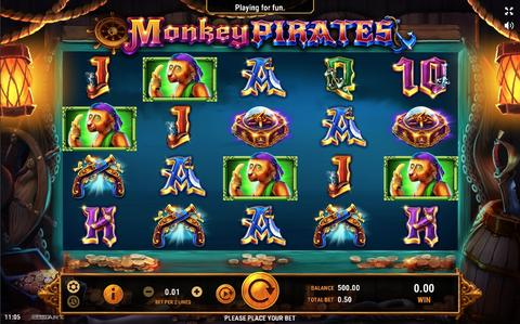 Online Casino «Monkey Pirates Slot»