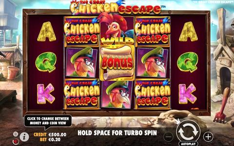 Online Casino «The Great Chicken Escape Slot»