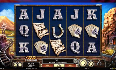 Online Casino «Gold Canyon Slot»