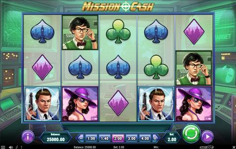 Online Casino «Mission Cash Slot»