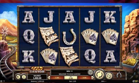 Online Casino «Gold Canyon Slot»